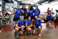 HSBC World Rugby Women's Sevens Series Langford: New Zealand Training Session