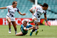 HSBC World Rugby Women's Sevens Series Sydney: USA vs. Russia