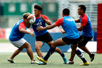 2016 Asia Rugby Sevens Series Hong Kong: Training Session