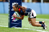 HSBC World Rugby Women's Sevens Series Qualifier pool match: Kenya vs. Hong Kong