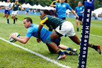 HSBC World Rugby Women's Sevens Series Qualifier pool match: South Africa vs. Italy