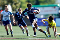 HSBC World Rugby Women's Sevens Series Langford Cup Quarter Finals: USA vs. Australia