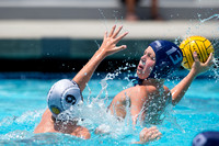 12U Vanguard vs Newport Blue during the 2017 USA Water Polo Juni