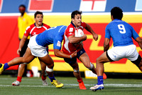 HSBC World Rugby Sevens Series Las Vegas pool match: Samoa vs. Chile