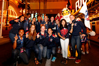 HSBC World Rugby Women's Sevens Series Las Vegas: Parade of Nations and Opening Ceremony