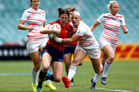 HSBC World Rugby Women's Sevens Series Sydney: England vs. Spain