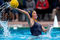 2017.02.04 Collegiate Women's Water Polo: Stanford Invitational, Cal vs SJSU