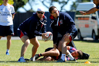 HSBC World Rugby Men's Sevens Series Wellington: USA Training Se