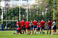HSBC World Rugby Sevens Series Hong Kong: USA Eagles Sevens Training Session