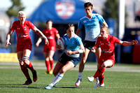 HSBC World Rugby Women's Sevens Series Las Vegas pool match: Canada vs. Russia