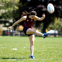 HSBC World Rugby Women's Sevens Series Langford: Ireland Training Session