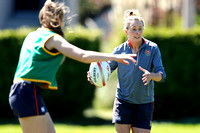 HSBC World Rugby Women's Sevens Series Langford: England Training Session