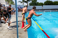 during the 2017 USA Water Polo Junior Olympics tournament