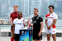 HSBC World Rugby Sevens Series Hong Kong: Captain's photo