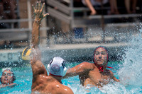 18U Stanford vs Cal Republic during the 2017 USA Water Polo Juni