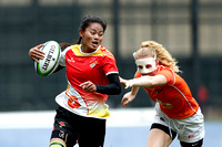 HSBC World Rugby Women's Sevens Series Qualifier pool match: China vs. Netherlands