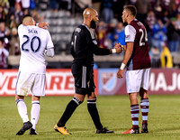 The MLS Western Conference soccer game between the Colorado Rapids and Real Salt Lake at Dick's Sporting Goods Park in Commerce City, Colorado. Final score of the game was the Colorado Rapids - 1 and