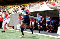 HSBC World Rugby Men's Sevens Series Wellington pool match: USA vs. France