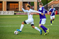 The Summit League Tournament Semifinal soccer game between the University of Denver (DU) and Western Illinois at CIBER Field on the campus of the University of Denver in Denver, Colorado.  Final score