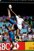 HSBC World Rugby Sevens Series Hong Kong pool match: USA Eagles vs. Russia