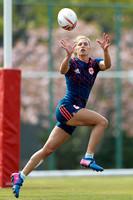 HSBC World Rugby Women's Sevens Series Kitakyushu: France Training Session