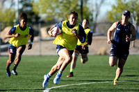 HSBC World Rugby Womens Sevens Series Las Vegas: USA Eagles Training Session