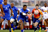 HSBC World Rugby Sevens Series Las Vegas pool match: USA Eagles vs. Samoa