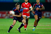 HSBC World Rugby Women's Sevens Series: USA vs. Canada