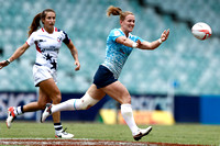 HSBC World Rugby Women's Sevens Series Sydney: Russia vs. USA