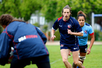 2015-16 HSBC World Rugby WomenÕs Sevens Series Langford: USA Women's Eagles Sevens Training Session