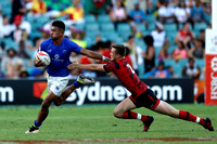 HSBC World Rugby Sevens Series Sydney pool match: Samoa vs. Wales