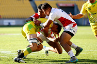 HSBC World Rugby Men's Sevens Series Wellington pool match: Australia vs. Japan