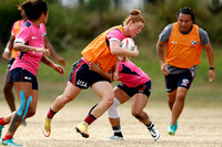HSBC World Rugby Women's Sevens Series Sydney: USA Training Session