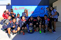 HSBC World Rugby Sevens Series Las Vegas: USA Eagles Adopt-a-Country School Visit