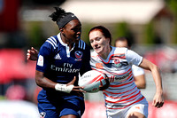 HSBC World Rugby Women's Sevens Series Langford: USA vs. England