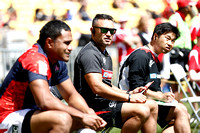 HSBC World Rugby Men's Sevens Series Wellington pool match: Fiji vs. Japan