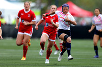 2015-16 HSBC World Rugby Women's Sevens Series Langford: Canada Women's Sevens vs. Japan