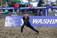 2018.04.14 Cal Beach Volleyball vs. Oregon