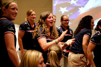 USA Women's Eagles Jersey Ceremony