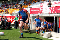HSBC World Rugby Women's Sevens Series Clermont Ferrand: USA Women's Eagles Sevens vs. England