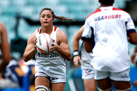 HSBC World Rugby Women's Sevens Series Sydney: USA vs. Spain