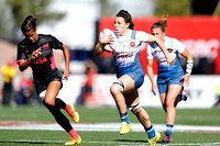 HSBC World Rugby Women's Sevens Series Las Vegas pool match: France vs. Argentina