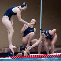 2017.02.05 Collegiate Women's Water Polo: Stanford Invitational, Cal vs Davis