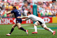 HSBC World Rugby Sevens Series Hong Kong pool match: USA Eagles vs. Scotland