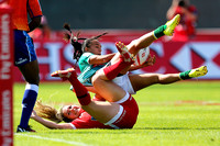 HSBC World Rugby Women's Sevens Series: Canada vs. Brazil