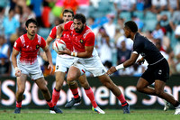 HSBC World Rugby Sevens Series Sydney pool match: Fiji vs. France