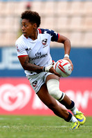 HSBC World Rugby Women's Sevens Series S‹o Paulo Cup Semi Finals : USA vs. Australia