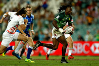 HSBC World Rugby Sevens Series Sydney pool match: South Africa vs. England