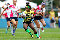 HSBC World Rugby Women's Sevens Series Qualifier pool match: Japan vs. Jamaica
